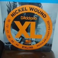 Senar Gitar Elektrik 010 D'Addario EXL 110 Ori USA