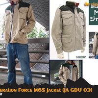 Earth Federation Force M65 Jacket (Jaket Anime Gundam)