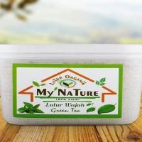 Lulur organik wajah My Nature Green Tea