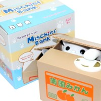 Mischief Saving Box  Celengan Kucing