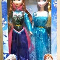 Boneka Frozen Anna and Elsa