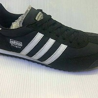 SEPATU CASUAL ADIDAS DRAGON FOR MAN WARNA HITAM