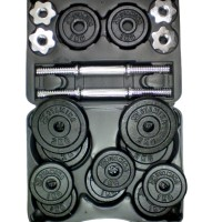 Dumbbell Set Stamina 20 kg Iron Cast