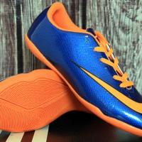 jual sepatu futsal,bola,Nike Mercurial Superfly IV Biru Orange