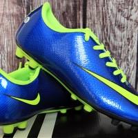 jual sepatu bola,futsal,Nike Mercurial Superfly Biru Strip Hijau