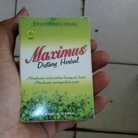 maximus dietary herbal / maksimus diet / pelangsing / wasir