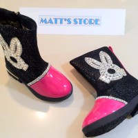 Sepatu Boot Anak (702) - Fuschia
