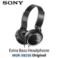 Sony Extra Bass Headphone MDR-XB250/B - Original