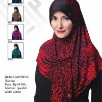 Bergo Shasmira Jilbab Motif 003 fanta