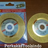 Diamond Grinding Wheel Cutting/Polishing,Mata Potong Batu 4 Benz