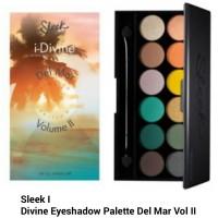 Sleek I - Divine Eyeshadow Palette Del Mar Vol II