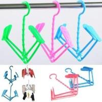 Shoes Hanger Hanging Shoe Gantungan Jemur Rak Jemuran Sepatu Sandal