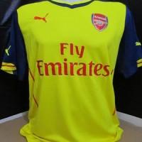 Jersey Bola Arsenal Away 14/15 GRADE ORI