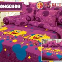 Kartun TS - Spongebob BED COVER SET 180 x 200 cm