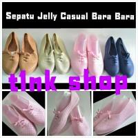 Sepatu Flat Casual Jelly Bara Bara