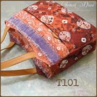 Ncak - T101: Tote Bag - Tas Bahu Jumputan Ori Fine Leather