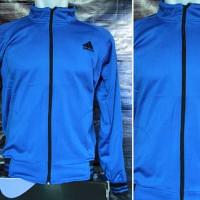 Jaket Adidas Climacool Biru(jaket sport,sweater,blazer,jaket parasut)