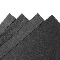 Fancy Paper 230 gsm A3 - Black Linen Hitam