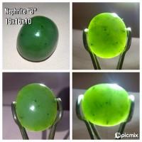 "Batu Natural Nephrite jade (loose stone) ""B"""