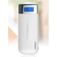 powerbank vivan x06 6000 mah digital indicator (samsung cell)