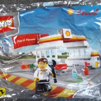 Lego Shell 40195 - Shell Station