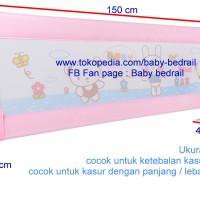 Baby Bedrail ukuran 150 x 64 cm