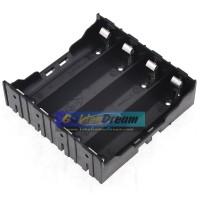 Paralel 4x 18650 Battery Holder Plat Lempengan Kotak Baterai Batere