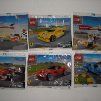 Lego Shell V Power Series - 40190, 40191, 40192, 40193, 40194, 40195