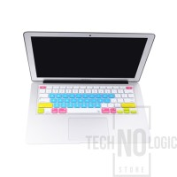 Candy Color Silicone Keyboard Protector Skin Macbook Air/Pro 13 Blue