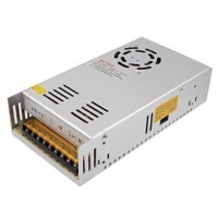 Power Suply CCTV 12V 30A + FAN  (Model Jaring)