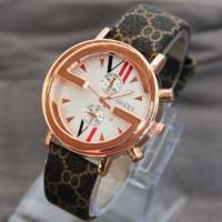 jam tangan gucci gold