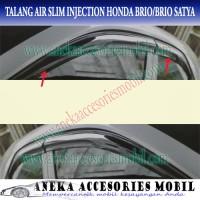 Talang Air/Side Visor Slim Injection Honda Brio Satya