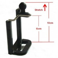 TONGSIS Clamp for Smartphone with 0.25 Inch Screw Hole Long jumbo
