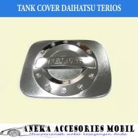 Garnish Tutup Bensin/Tank Cover Garnish Chrome Mobil Daihatsu Terios
