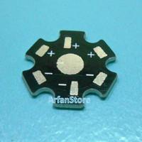 Heat Sink PCB LED 1W 3W Heatsink Bintang Aluminium Plat Base Pendingin