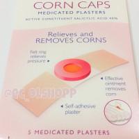 Corn Caps Carnation - Plester ampuh obat mata ikan, kutil, caplak 5pcs
