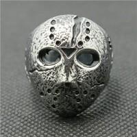 jason friday the 13th skull ring / cincin tengkorak import