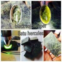 batu green sojol hitam super/giok herkules hitam king sojol