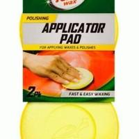 Turtle Wax Applicator Pad / Busa Wax Waxing Salon Mobil Detailing