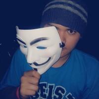 Topeng Vandetta / Anonymous / Hacker