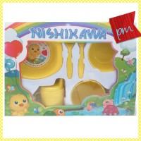 nishikawa feeding set alat makan bayi