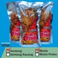 Paket Hemat Reseller Kering kentang manis pedas/ manis / double pedas