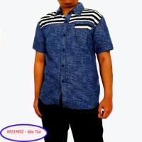 Kemeja Pria Katun Kombi Soft Denim - size M/L -  KPZ1485Z