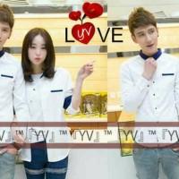 Kemeja Couple Love YV Men