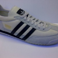 SEPATU CASUAL ADIDAS DRAGON FOR MAN & LADIES WARNA PUTIH