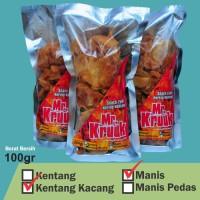 Kering Kentang Kacang Manis (Tidak Pedas) 100gr