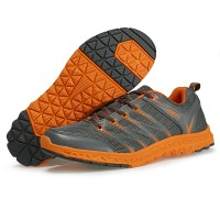 Sepatu Running/Olahraga KETA 174 Grey/Orange