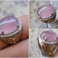 Batu Akik Kecubung Asihan Lavender Chalcedony