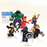1 Set Lego Mini Figure The Avengers ( Age Of Ultron)