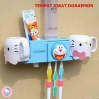 Tempat Sikat Gigi + Odol Doraemon